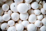 Close-up picture of group of fresh champignons - 217137211