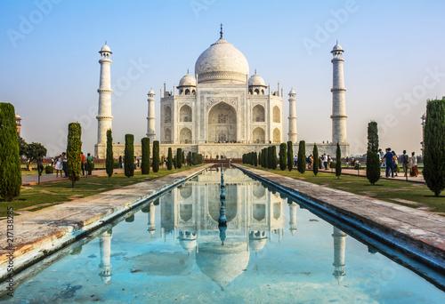 Foto Murales Taj Mahal, India.