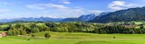 Naturlandschaft im Allgäuer Alpenvorland bei Nesselwang - 217139066