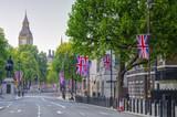UK, England, London, Whitehall and Big Ben