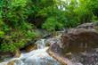 Water fall wildlife Kanchanaburi Thailand - 217140608