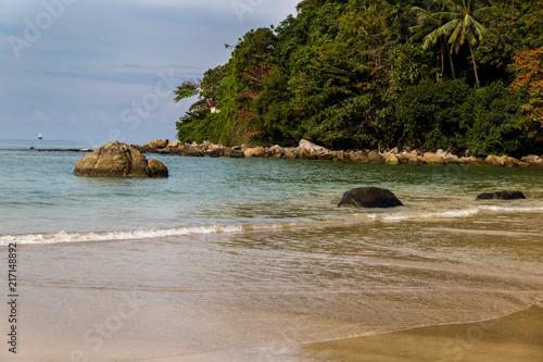 In de dag Tropical strand Paysage de Thailande - Phuket - Kamala Beach
