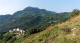 San Giovanni di Moriani mountain in Corsica