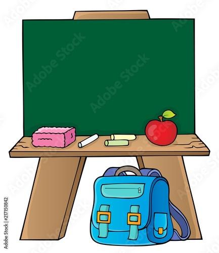 Canvas Voor kinderen Schoolboard topic image 1