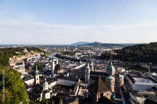 Fototapeta Blick auf Salzburg