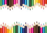 Colorful Pencils on White Background - Detailed Illustration as Design Elements for Your Project, Vector - 217157275