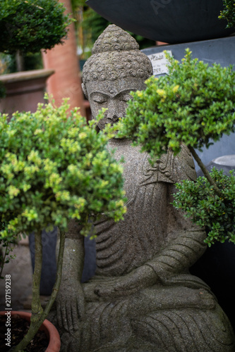 Fotobehang Boeddha Buddha-Statue