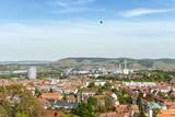 Stuttgarter Gaskessen mit Heissluftballon