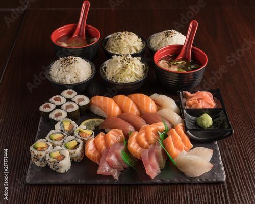 Sushi Menu Plate - 217171444