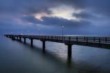 Pier oo the coast