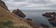 Quadro The impressive Sea Cliffs At St Abbs Head on the Scottish border