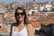 Quadro woman in Porto, Portugal.