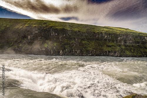 Fotobehang Grijze traf. Iceland