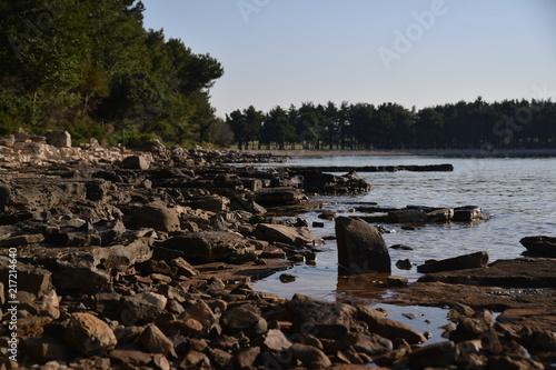 Foto Murales Sonnenaufgang am Strand Bearkiting für HDR erstellung