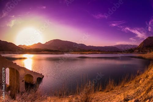 Foto Spatwand Violet La Villa Joiosa Spain