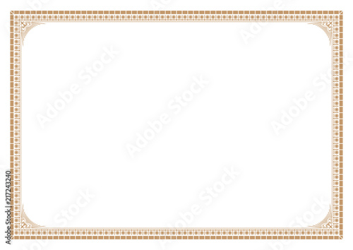 gold border for certificate victorian style buy photos ap images