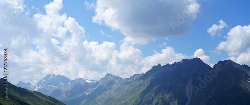 Berge Panorama Gipfel - 217258434