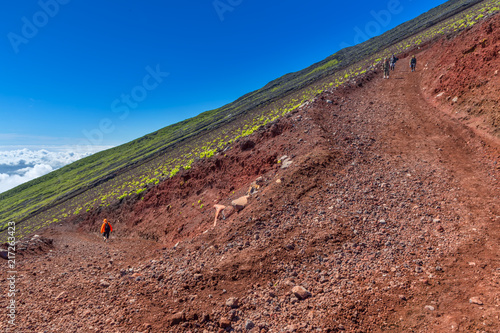 Canvas Cappuccino Mt. Fuji climbing,Yoshida Trail , japan