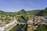 Plongée sur l'Ariège au coeur de Tarascon-sur-Ariège