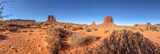 Buttes of Monument Valley, Arizona panoramic view