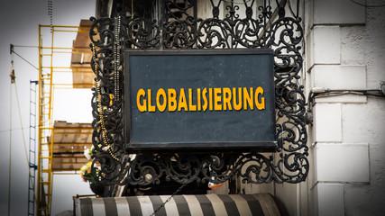 Schild 347 - Globalisierung