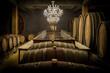 Quadro Weinfässer und Verkostungstafel