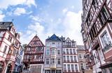 Historische Hausfassaden Bernkastel-Kues Rheinland Pfalz Deutschland - 217318255