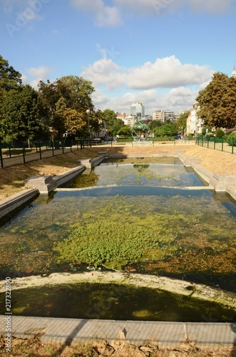 Foto Spatwand Brussel Bruxelles : Square Ambiorix (Belgique)