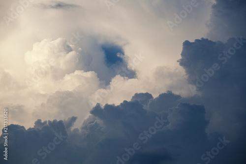 Foto Murales cloud on sky