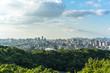 panoramic city skyline in shanghai china