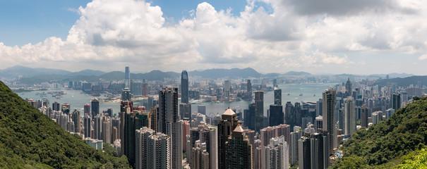 Hong Kong Island Overview Victoria Peak  © Thomas