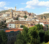View of the center of the city of Cuenca, in Spain - 217370064