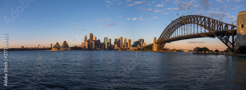 Sydney Harbour panorama view