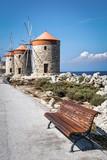Old Windmills of Rhodes