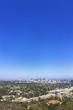 Santa Monica Mountain hilltop overlooking Downtown Los Angeles