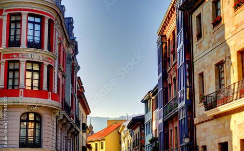 Fototapeta Oviedo, Capital of Asturias, Spain