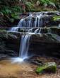 Waterfall, Great Ocean Road, Victoria, Australia - 217417246