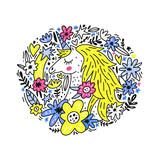 Cute Unicorn Vector - 217425417