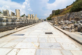The ancient city of Ephesus (Efes in Turkish) located near Selcuk town of Izmir Turkey.