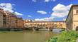 Quadro Ponte Veccio über dem Arno in Florenz