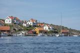 Wooden houses on Swedish west coast