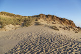 View to the Dunes at Sylt-Kampen Cliff at Sunset / Germany - 217441278