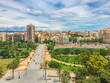 beautiful bridge and city view Valencia spain - 217447817