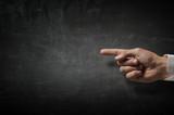 Man pointing at something - 217456822