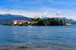 Quadro Isola bella sul lago maggiore