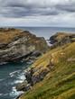 Quadro Cornwall tintagel coast