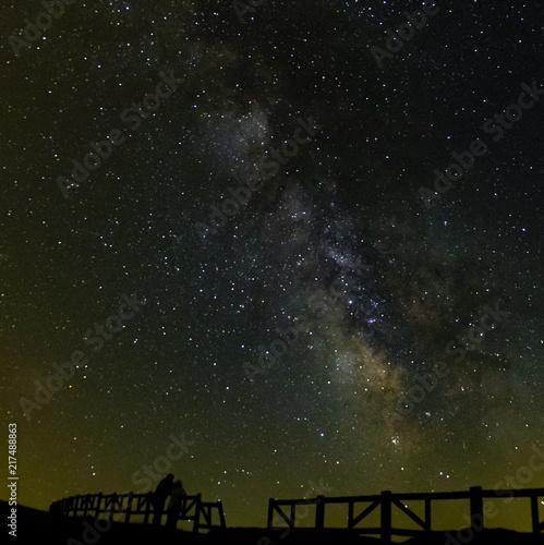 Aluminium Heelal Vía Láctea