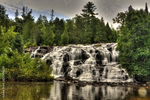 Bond Falls, Michigan - 217498639
