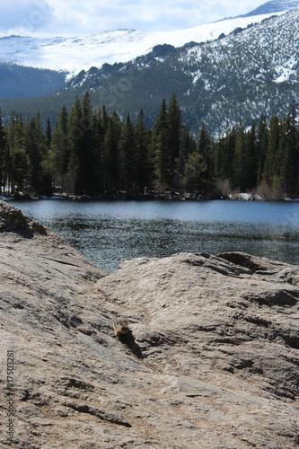 In de dag Bergrivier Lake view