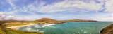 Panoramic landscape with Barleycove beach on a sunny  day in a county Cork. Ireland